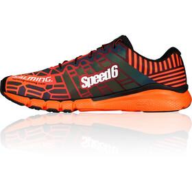 Salming Speed 6 Shoes Men Orange/Black